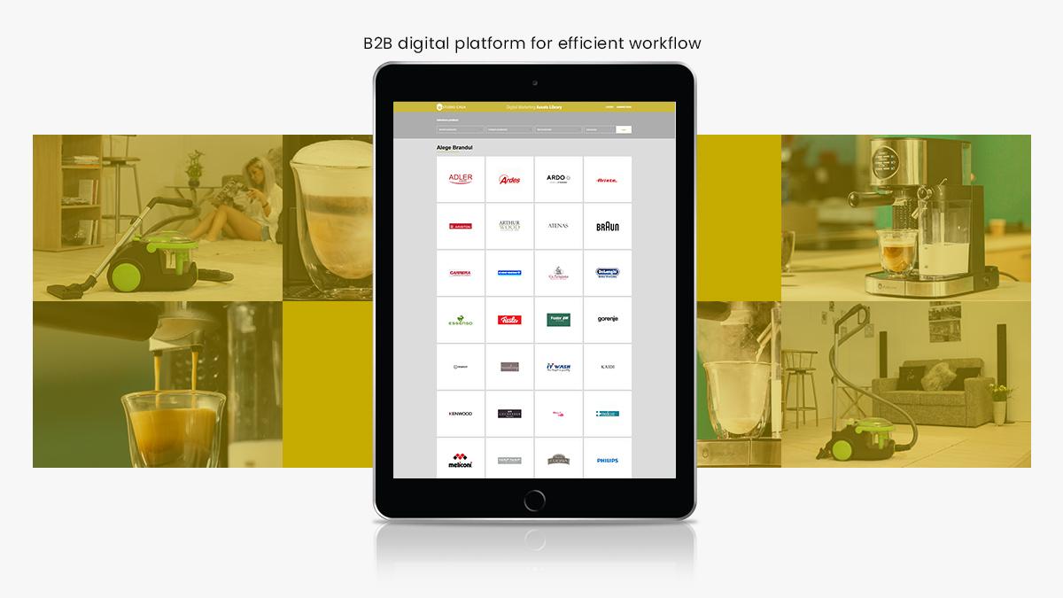 librarie digitala fisiere marketing produse